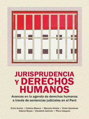 cover image of Jurisprudencia y derechos humanos Jurisprudencia y derechos humanos