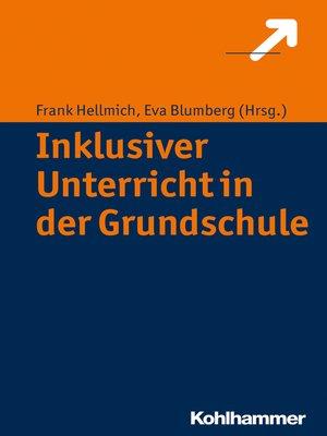 cover image of Inklusiver Unterricht in der Grundschule