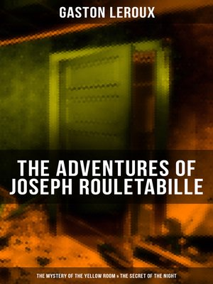 cover image of The Adventures of Joseph Rouletabille