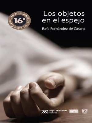 cover image of Los objetos en el espejo
