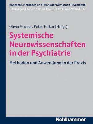 cover image of Systemische Neurowissenschaften in der Psychiatrie