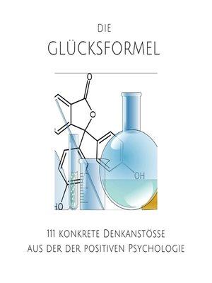 cover image of Die Glücksformel