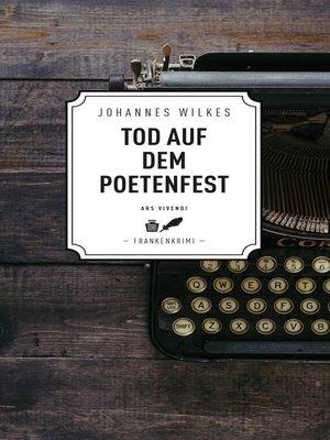 cover image of Tod auf dem Poetenfest--Frankenkrimi