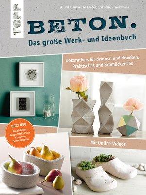cover image of Beton. Das große Werk- und Ideenbuch