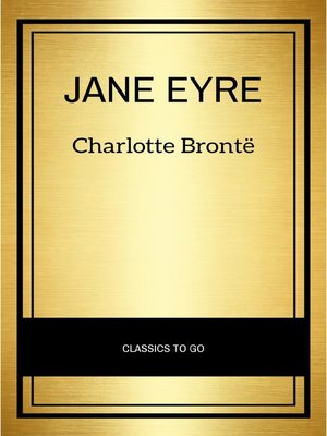 cover image of Jane Eyre