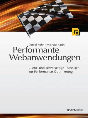 cover image of Performante Webanwendungen