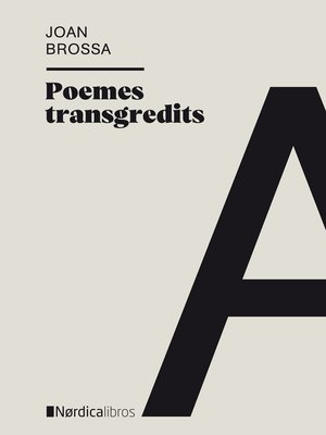 cover image of Poemes transgredits