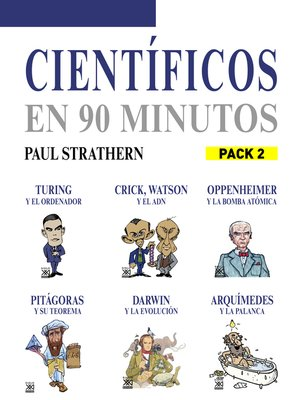cover image of En 90 minutos--Pack Científicos 2