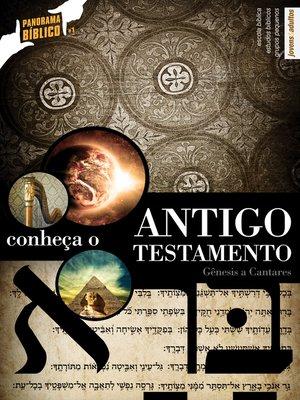 cover image of Panorama Bíblico do Antigo Testamento--VOL 1--GUIA