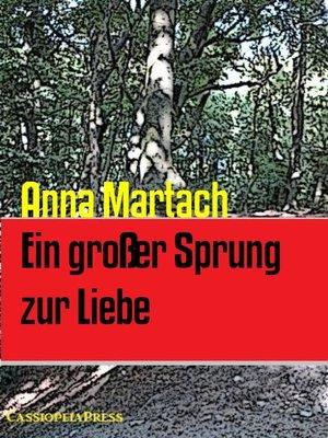 cover image of Ein großer Sprung zur Liebe