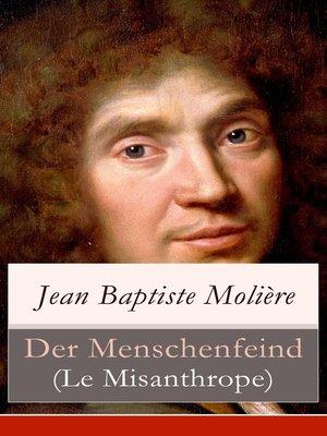 cover image of Der Menschenfeind (Le Misanthrope)