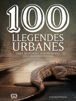 cover image of 100 llegendes urbanes