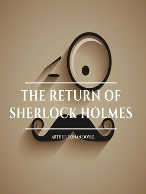 cover image of The Return of Sherlock Holmes