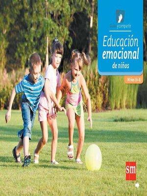 cover image of Educación emocional de niños