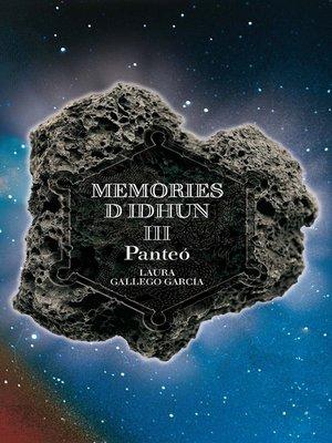cover image of Memòries d'Idhun III. Panteó