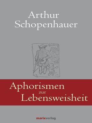 cover image of Aphorismen zur Lebensweisheit