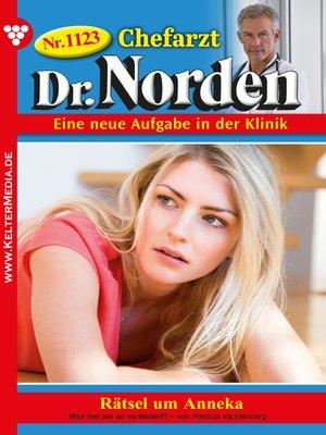 cover image of Chefarzt Dr. Norden 1123 – Arztroman