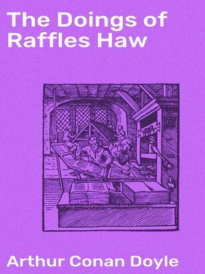 cover image of The Doings of Raffles Haw