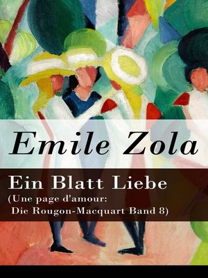 cover image of Ein Blatt Liebe (Une page d'amour