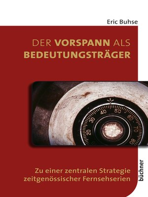 cover image of Der Vorspann als Bedeutungsträger