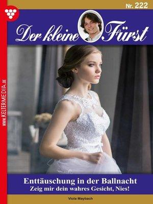 cover image of Der kleine Fürst 222 – Adelsroman