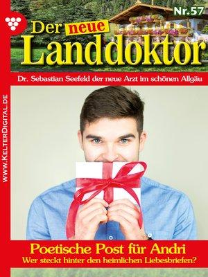 cover image of Der neue Landdoktor 57 – Arztroman