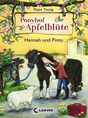 cover image of Ponyhof Apfelblüte 4--Hannah und Pinto