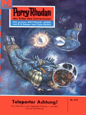 cover image of Perry Rhodan 219