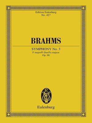 cover image of Symphony No. 3 F major