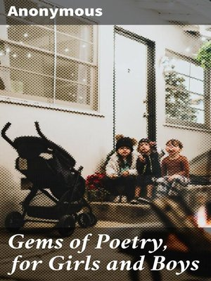 cover image of Gems of Poetry, for Girls and Boys