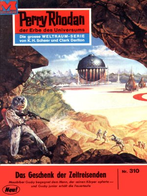 cover image of Perry Rhodan 310