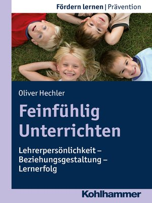 cover image of Feinfühlig Unterrichten