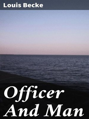 cover image of Officer and Man