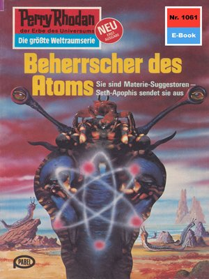 cover image of Perry Rhodan 1061