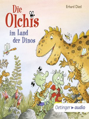 cover image of Die Olchis im Land der Dinos