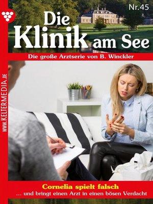 cover image of Die Klinik am See 45 – Arztroman