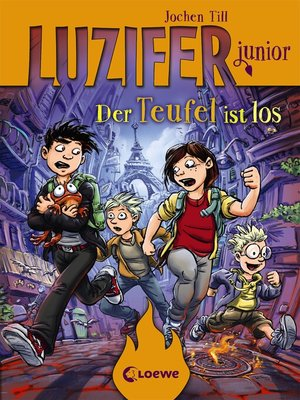 cover image of Luzifer junior 4--Der Teufel ist los