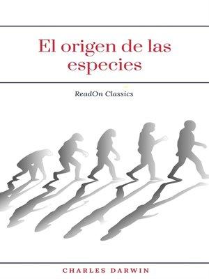 cover image of El origen de las especies (ReadOn Classics)