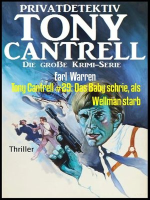 cover image of Tony Cantrell #29
