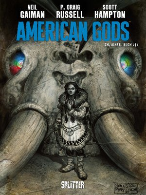 cover image of American Gods. Band 4