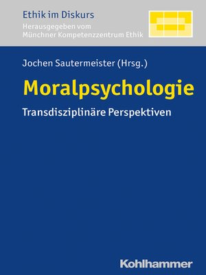 cover image of Moralpsychologie