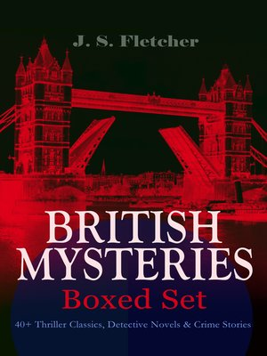 cover image of BRITISH MYSTERIES--Boxed Set