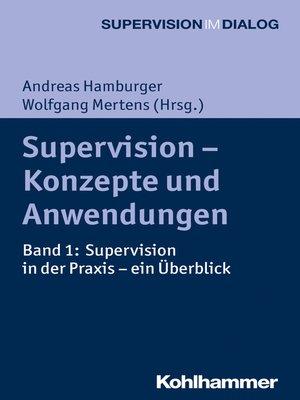 cover image of Supervision--Konzepte und Anwendungen