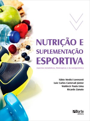cover image of Nutrição e suplementação esportiva