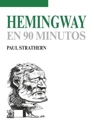 cover image of Hemingway en 90 minutos