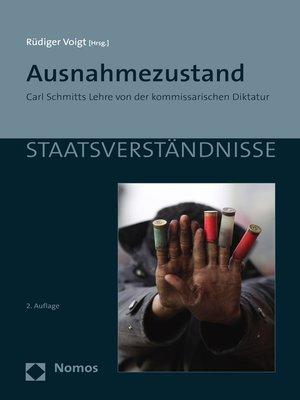 cover image of Ausnahmezustand