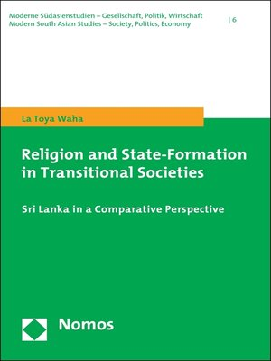 cover image of Religion and State-Formation in Transitional Societies