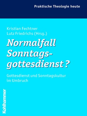 cover image of Normalfall Sonntagsgottesdienst?
