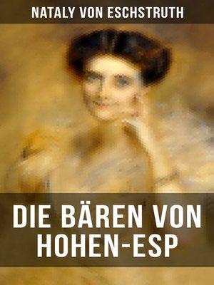cover image of Die Bären von Hohen-Esp
