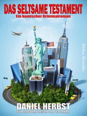 cover image of Das seltsame Testament